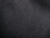 Soft black leather royalty free stock image