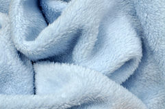 Soft Blue Baby Blanket Royalty Free Stock Image
