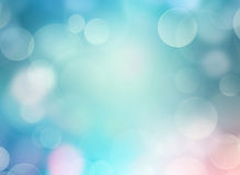 Soft blue blurred defocused illustration background. Stock Photos