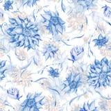 Soft blue and brown vintage pattern vector illustration