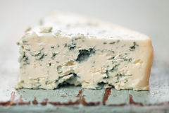 Soft blue cheese Stock Photography