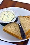 Spreadable blue cheese Stock Photography