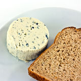 cheese and bread Royalty Free Stock Photo