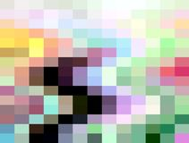 Soft blue orange yellow green rainbow geometries, abstract background, graphics, abstract background and texture stock illustration