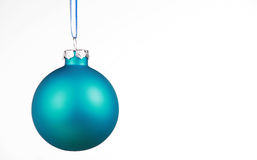 Free Soft Blue Ornament On White Royalty Free Stock Photo - 6652685