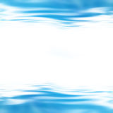 A soft blue wave Stock Photography