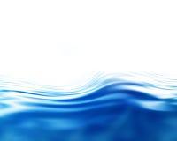 A soft blue wave Stock Photos