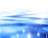 Soft blue waves Royalty Free Stock Image
