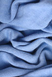 Soft blue wool sweater Royalty Free Stock Photography
