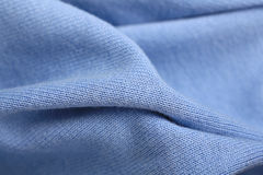 Soft blue wool sweater Royalty Free Stock Photo