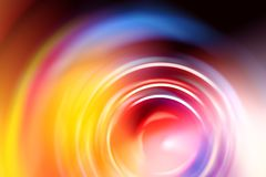 Soft blurred circle shape colorful abstract stock photo