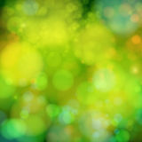 Soft blurry background with bokeh effect. Vector illustration. Stock Photo