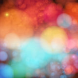 Soft blurry background with bokeh effect. Vector illustration. Stock Images
