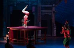 Soft body-Acrobatic showBaixi Dream Night Stock Image
