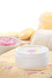 Soft Body Cream Royalty Free Stock Photography