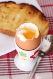 Soft boiled egg Royalty Free Stock Photography