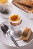 Soft boiled egg Royalty Free Stock Image
