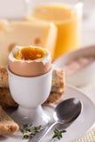 Soft boiled egg Royalty Free Stock Photo
