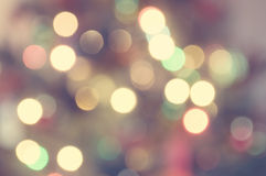 Bokeh Lights. Soft bokeh lights background royalty free stock photo