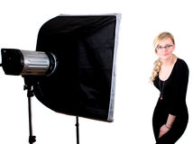 Soft box Royalty Free Stock Photos