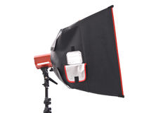 Soft Box. Photography Light On White stock images
