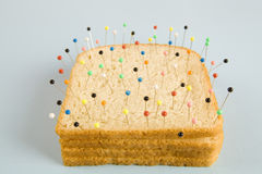 Soft bread voodoo Royalty Free Stock Images