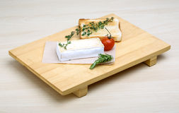 Soft brie cheese Stock Image