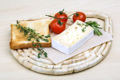Soft brie cheese Royalty Free Stock Image
