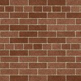 Soft Brown Brick Wall. Brick Wall Soft Brown Pattern Background / Brown Brick Surface / Seamless texture Stock Illustration