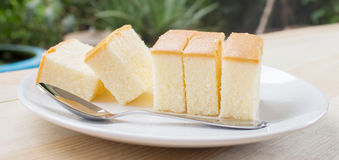 Soft butter cake Royalty Free Stock Photos