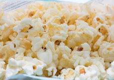 Soft butter popcorn. Royalty Free Stock Photo