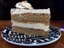 soft cake coffee Stock Photography