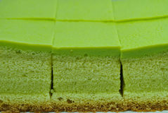 Soft cake pandan Royalty Free Stock Photos