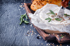 Soft Camembert cheese Royalty Free Stock Photography