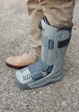 Soft cast footwear Royalty Free Stock Photo