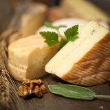 Soft cheese stock image