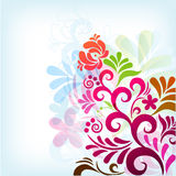Soft classic floral background Royalty Free Stock Image