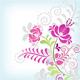Soft classic floral background Royalty Free Stock Photos