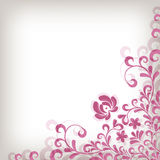 Soft classic floral background Stock Images