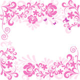 Soft classic floral background Royalty Free Stock Photo