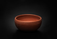 Soft clay pot : bowl Stock Images