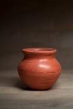 Soft clay pot : pitcher Royalty Free Stock Photos