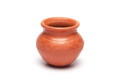 Soft clay pot : pitcher Stock Photos