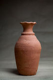 Soft clay pot :vase  Royalty Free Stock Photo