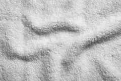 Soft clean terry towel,. Closeup Stock Images