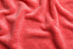 Soft clean terry towel,. Closeup Royalty Free Stock Photography