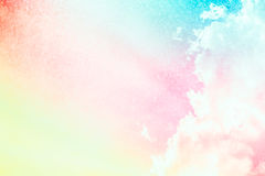 Soft cloud background color. Stock Image
