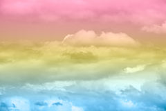 Soft cloud sky background with pastel color. Soft cloud sky background with pastel gradient color Stock Image