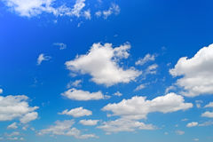 Soft clouds Stock Image