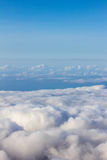 Soft clouds over view Stock Image